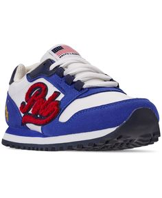 Little Boys' Oryion Script Casual Sneakers from Finish Line