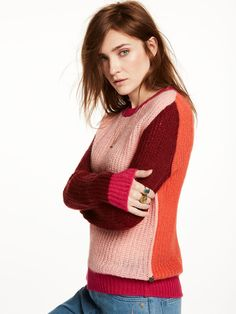 Pullover in lana mohair