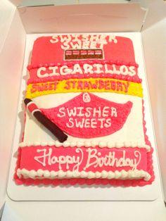 Another wonderful Swisher cake! #swishersweets #swishersmokes #sweet #smooth #strawberry