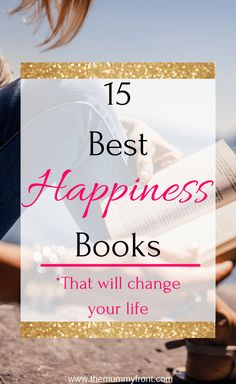 Reading is a great way to widen the mind and achieve happiness. Here are 15 AWESOME books about happiness you NEED to read. Motivational Books, Inspirational Books, Uplifting Books, Personal Development Books, Self Development, Thriller, Gratitude Book, Books To Read For Women, Finding Inner Peace