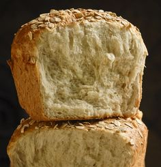 What a great way to eat your oats! - Steel Cut Oat Bread from Knead for Bread