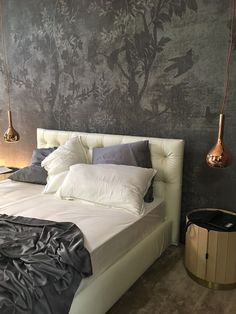 With our specialised designers we want to bring the history and culture of tapestry to a current design in way not to be just rugs, but works of art Contemporary Wallpaper, Cool Beds, Wall Treatments, Wall Wallpaper, Fabric Decor, Modern Wall, Wall Design, Wall Decor, Interior Design