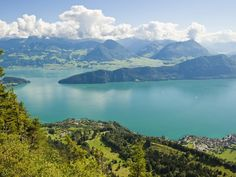 Whatever you do, find a hotel room that faces Lake Lucerne.