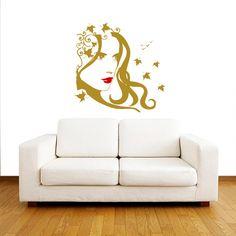 Wall Decals Beauty Salon Hair Vinyl Decal Interior by BestDecals