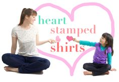 Heart Stamped Shirt