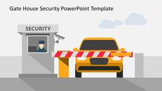 The Gate House Security PowerPoint Shapes are pre-design flat vector illustration of a security system. Powerpoint Slide Designs, Powerpoint 2010, Powerpoint Template Free, Powerpoint Themes, Business Powerpoint Templates, Powerpoint Animation, House Security, Gate House, Data Charts