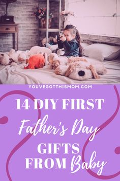 Nothing says Happy Father's Day to new dads like a fun, DIY from their kids. Check out the best 14 personalized gifts for a first time dad.