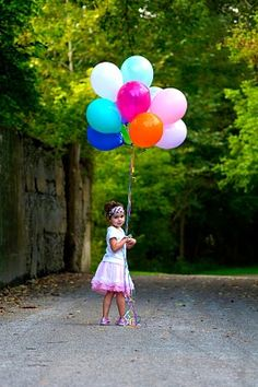 girl photography - different background but love the balloons