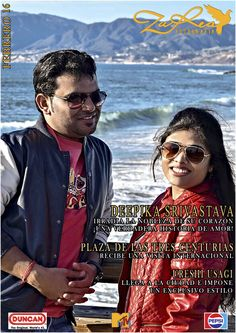 Feb 16 #4 Magazine Cover 'ZuRea Fotografía' Monthly Magazine, Mens Sunglasses, Studio, Cover, Movie Posters, Fashion, Fotografia, Style, Moda