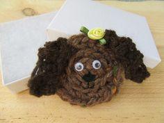 Dog brooch, dog lovers gift £7.50