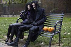 ___╋ I love Gothic ╋___ Grunge Fashion, Gothic Fashion, Goth Guys, Goth Men, Dark Art Photography, 80s Goth, Gothic People, Corporate Goth, Gothic Culture