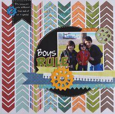 Boys Rule - Scrapbook.com