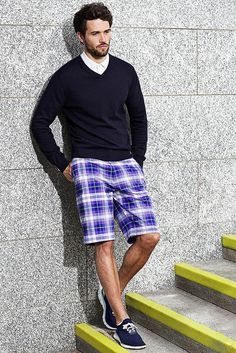 Mens Golf, Ss 15, New Man, Bold Colors, Patterned Shorts, Tartan, Take That, Product Launch, Sporty