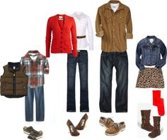 Attraktive Damenmode : 10 stylische Outfit-Ideen für den Winter Take a look at the best what to wear with jeans pictures in the photos below and get ideas for your outfits! What to Wear in Family Pictures by COLOR-Brown! Family Portrait Outfits, Family Picture Outfits, Family Posing, Family Portraits, Family Pictures What To Wear, Fall Family Pictures, Family Pics, Holiday Pictures, What To Wear Fall
