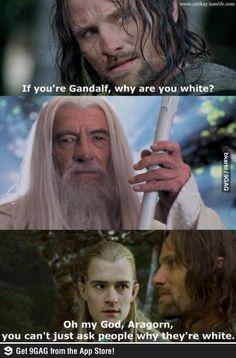 Omgosh Aragorn...