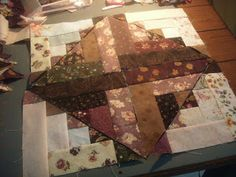 Pumpkin Patch Quilter: WIP and a Mini-Tutorial