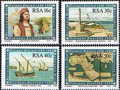 South Africa 1988 Cape of Good Hope Set Fine Mint Drawing Conclusions, Rare Stamps, You Are The World, New South, African Culture, My Land, Handmade Books, East London, Postage Stamps