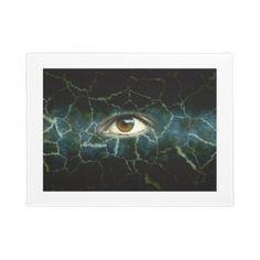 #cracked bg eye bg doormat - #doormats #home & #living