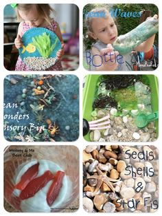 Today is World Oceans Day. Here's a round up of wonderful activities from fellow bloggers to inspire your child's mind and start nurturing little stewards of the ocean