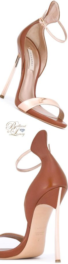 Brilliant Luxury by Emmy DE ♦ Casadei Bicolour Sandals