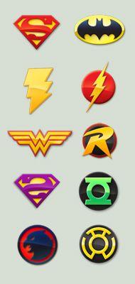 DC Comic Logos