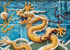 Dragon from Nine Dragon Wall