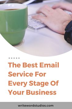 The Best Email Service For Every Stage Of Your Business. Breakdown of the top 6 email service providers for email marketing. Email Marketing Lists, Content Marketing, Affiliate Marketing, Online Marketing, Best Email Service, Email Service Provider, Digital Media Marketing, Social Media Marketing, What Is Social