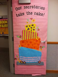 Teacher Appreciation Door Decorating Ideas ~ Southland Elementary PTO