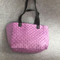 2018 Hand Woven Lady Handbag Customized Cute Pink, Simple And Generous Pure Color, Practical Shopping Bags, Portable. From Shnaia111, $20.11 | DHgate.Com Shopping Bags, Cute Pink, Hand Weaving, Pure Products, Lady, Simple, Color, Fashion, Moda