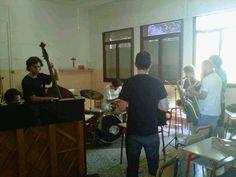 sassofonisti al lavoro...