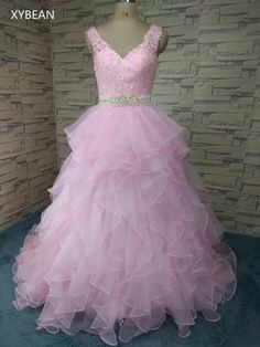 Hot Sale Organza Bridal Gown Ruffles A Line Wedding Dresses Bridal Gowns 78c65811fcdb