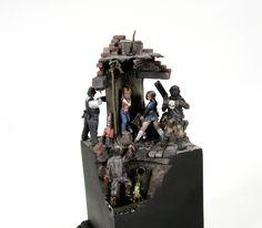 Hasslefree Zombie diorama.