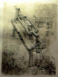 Leonardo Da Vinci-Logcutter dessein