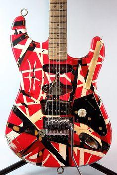 エレキギター EVH(ヴァン ヘイレン) FRANKENSTEIN Replica 2007