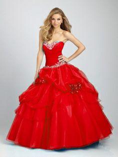 Quinceanera Dresses red