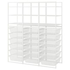 JONAXEL Frame/mesh baskets/shelving units, 58 It can be difficult to keep things neat and tidy. JONAXEL storage system lets you utilize the spaces you have in smarter ways. Neat And Tidy, Tidy Up, Grande Armoire, Basket Drawers, Licht Box, Foldable Table, Frame Shelf, Ikea Family, Drawer Unit