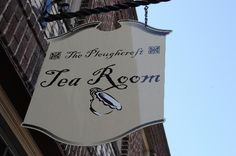 Had lunch here with my mother-in-law in Lynchburg, VA.  So lovely!    www.ploughcrofttearoom.com