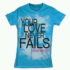 God's love never fails!