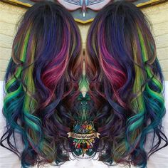 New Hair Color Trends of Galaxy Hair~