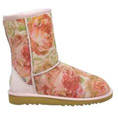 Super cute floral UGGS <3