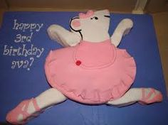 angelina ballerina cake - Google Search Angelina Ballerina, Ballerina Cakes, 3rd Birthday, Abs, Google Search, Crunches, Abdominal Muscles, Six Pack Abs