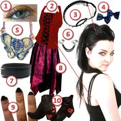 DIY The Look: Amy Lee · DIY The Look · Cut Out + Keep