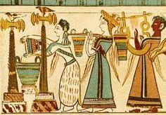 Mural, Knossos, Minoan Crete