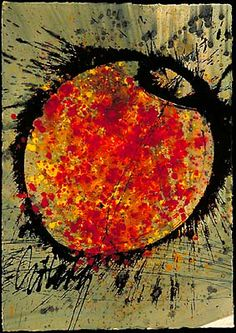"""DALE CHIHULY  BASKET DRAWING, 1995  ACRYLIC ON PAPER  42 X 30"""""""