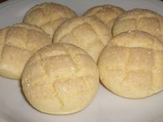 米粉で簡単♪メロンパン風☆