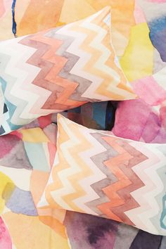 It's like watercolor for your bed :)  Urban Outfitters