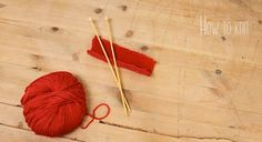 How to knit - videos on Mollie Makes