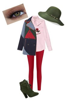 """""""Untitled #25"""" by nidaaltayy on Polyvore featuring Gucci, Giuseppe Zanotti, Betmar and Tory Burch"""
