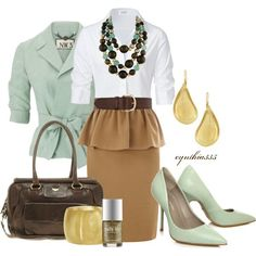 Are you thinking hard about what to wear for work? Here, we've collected 15 the most graceful outfit ideas from the web for you. You may just take a look at the gallery below and make a similar combination by yourself. If you don't like the rather conservatice work attire, the outfit ideas below will[Read the Rest]