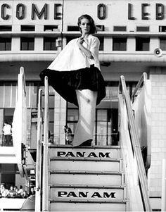 Deborah Dixon photographed by F.C. Gundlach, Beirut, 1963